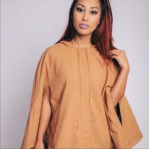 NEW Forever 21 Brown Cape